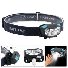 4000LM Motion Sensor LED Headlamp USB Rechargeable Running Headlight Head Torch