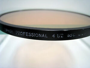 "Tiffen 4.5"" 85C Color Cyan Conversion Glass Filter Schneider 4 1/2"" Filters"