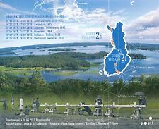 Finland 2011 MNH Sheet - Struve Geodetic Arc - Joint Issue - Issued May 6