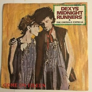 """Dexys Midnight Runners - """"Come On Eileen""""  7"""" (1982) Dexys / """"Dubious"""" / LOG8"""
