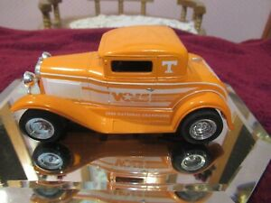 VINTAGE Die Cast 1/25 Scale Tennessee Vol Ford Model A # 1 of 7 IN 2ND SET!!!!
