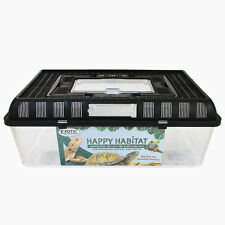 Happy Habitat (Large) - Ventilated Storage Container - Live Feeder Mealworms