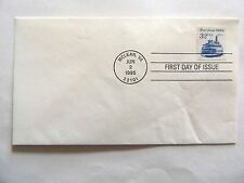 "June 2nd, 1995  ""Ferryboat 1900's"" First Day Cover"