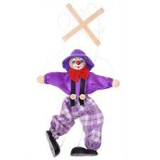 1pc Marionnette a Fils Clown Jouet pour Enfant - Couleur Aleatoire W1Q5