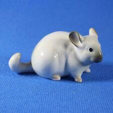 Chinchilla Lomonosov Porcelain Figurine Russia USSR IFZ