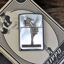 Zippo Lighter - 1935 Varga Girl - Windy  - 1993 Collectible Of The Year - COTY
