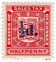 (I.B) Guernsey Revenue : Sales Tax ½d