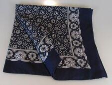 Halstuch Paisley blau Vierecktuch 70x70cm Bandana Nikki maritimesTuch