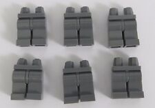 Lego 6  Leg  Legs Lower Parts For Minifigures  Dark Stone Grey