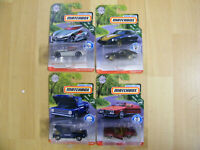Matchbox 2018/9 Moving Parts nur USA 4 neue Modelle Buick Datsun Chevy C10