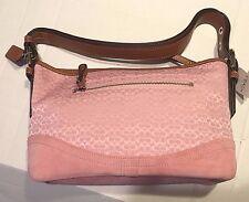 COACH Blush Pink Mn Signature E/W Sft Duffle 10945 $268