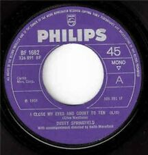 """I Close My Eyes And Count To Ten 7"""" : Dusty Springfield"""