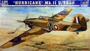 Trumpeter  02417 1:24th scale Hawker Hurricane MK II D/Trop