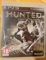 HUNTED-LA NASCITA del Demone PS3 ITALIANO NUOVO DI ZECCA SIGILLATO PLAYSTATION3