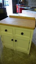 Freestanding Kitchen Base Drawer Cupboard Unit Hand Painted In Your Colour.