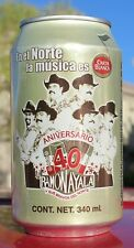 12 Oz. (355 Ml) Carta Blanca Ramon Ayala 40th ave. beer can Mexico Mexican cans