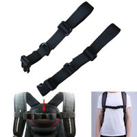 US 1Pc Adjustable Backpack Sack Bag Webbing Sternum Buckle Clip Strap Chest New