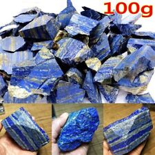 Raw Gemstone Afghanistan Lapis lazuli Crystal Natural Rough Mineral 100g Gifts