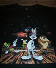 WB LOONEY TUNES TAZ Marvin The Martian Bugs Bunny T-Shirt MEDIUM NEW  SPACE JAM