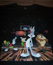 WB LOONEY TUNES TAZ Marvin The Martian Bugs Bunny T-Shirt MEDIUM NEW  SPACE JAM