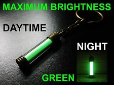 The BRIGHTEST Glow In The Dark Keyring Money Can Buy! Pure Strontium Aluminate!!