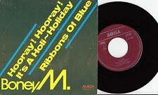 """Boney M - Hooray! Hooray!It`s A Holi~Holiday 7"""" Amiga 1977 VG++"""