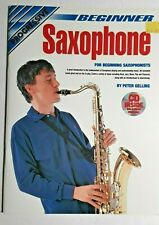 "Progressive ""Beginner Saxophone"" - Intro To Fundamentals Of Sax playing, with Cd"