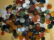 Vintage Carnelian Cabochon GemStone Agate Stone Mixed Lot OF 100 STONES