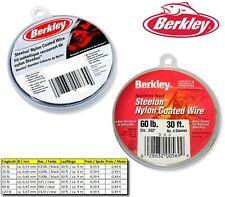 (0,49€/m) Berkley - Steelon Nylon Coated Wire - 2 Farben / 5 Größen