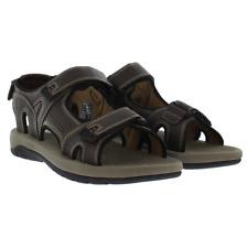 Khombu Mens Comfort Sandals - BROWN (Select Size: 8-13)