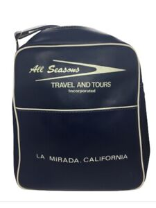 Cute Vintage All Season Travel And Tours Carry On Luggage Shoulder Bag