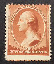 TRAVELSTAMPS: 1881-82 US Stamps Scott # 210, Washington, mint, no gum, unused