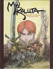 MICHAEL KALUTA SKETCHBOOK SERIES VOLUME 1 2012 IDW FIRST PRINT SHADOW FUN