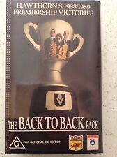 HAWTHORN'S 1988/1989 PREMIERSHIP VICTORIES - THE BACK TO BACK PACK VHS