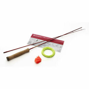 Redington Form Game Casting Practice Fly Rod Lava Red