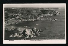 Channel Islands Jersey CORBIERE Lighthouse Aerial c1920/30s?  RP PPC
