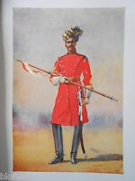 Antiquarian Indian Army Print (1911) Governor General's Bodyguard - Major Lovett