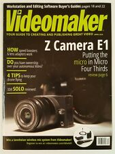 Videomaker Z Camera E1 Editing Software Buyer Guide April 2016 FREE SHIPPING JB