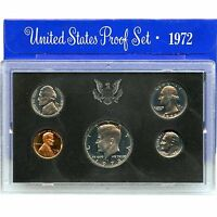 1972-S Proof Set United States US Mint Original Government Packaging Box