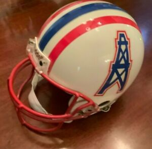 Houston Oilers Riddell Pro Line Authentic Full Size Football Helmet VSR-4