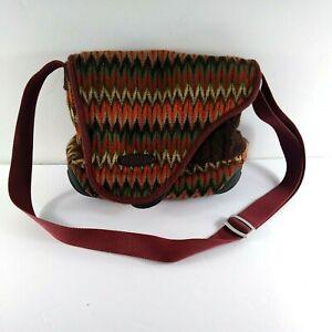 Keen Crossbody Messenger Bag Hybrid Transport Knit Adjustable Strap Medium