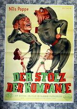 STOLZ DER KOMPANIE / KRONAS KACKA GOSSAR * A1-FILMPOSTER - German 1-Sheet 1951
