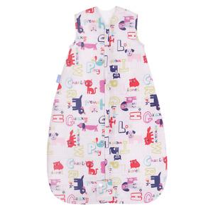 NEW Grobag Baby Sleeping bag 6 - 18  months 1.0 tog  - Alphapink  TRAVEL - 1 tog