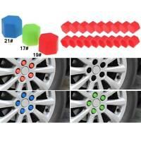20Pcs Car Wheel Nut Covers Lug Dust Bolt Caps Hub Screw Rim Protect Cap Silicone