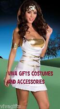 Ladies Roman Greek Goddess TitanToga Inspired Costume Sz 8/10