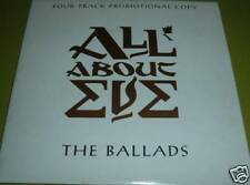 All About Eve The Ballads CD rare 4 track promo EX+ Martha's Harbour etc