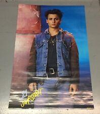 Vintage 1987 21 Jump Street original Johnny Depp poster 23x35 never previously