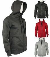 Riflessi Collection Men's Tech Fleece Zip Up Hoodie Jacket