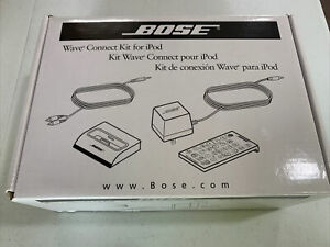 Bose Wave Music System Connect Kit Docking Station for iPod 315527-0010 - NOB