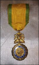Collection du Musée Napoléon des Princes de Monaco Médaille Militaire IIIè Répub